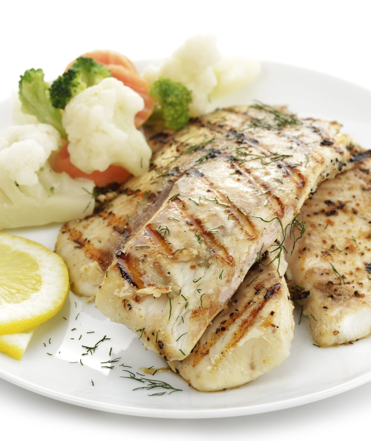 Broiled Lemon Pepper Cod