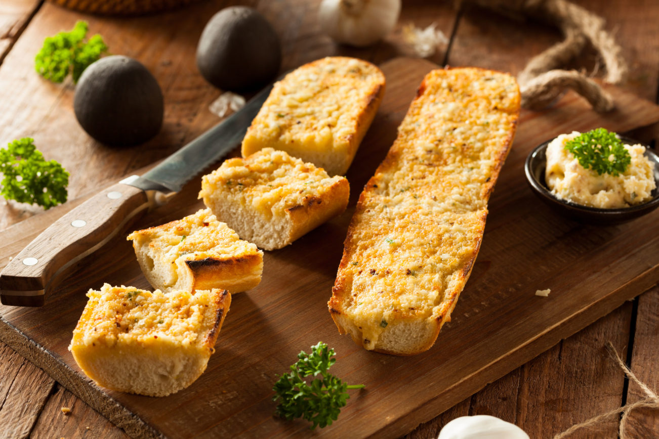 Parmesan Whole Wheat Crostini
