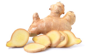 non-bloating foods, ginger