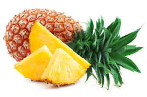 pineapple, non-bloating foods