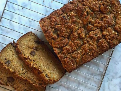 The Healthiest Zucchini Bread Ever (Grain-Free!)