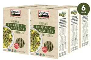 Explore Cuisine Organic Edamame and Mung Bean Fettuccine
