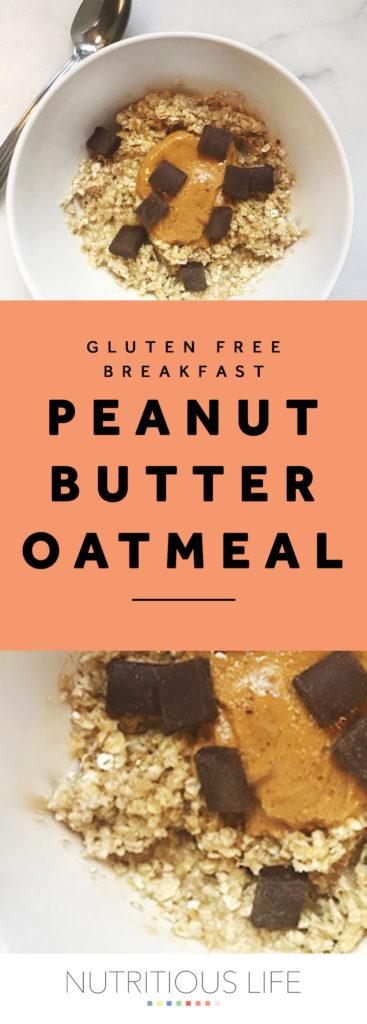 Peanut Butter Oatmeal pin