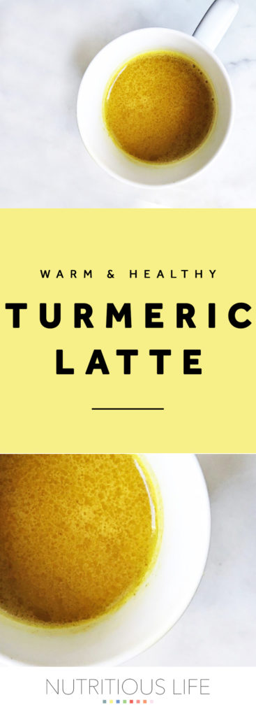 Turmeric Latte pin